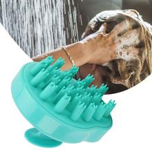 Household Silicone Bath Brushes Gourd-Shaped Head Shampoo Massage Brush Hair Combs
