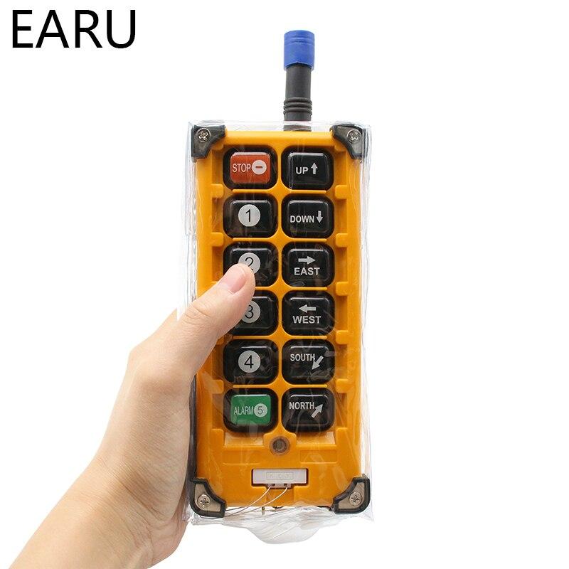 220VAC 12V 24V 36V 380V sans fil grue télécommande F23 A + + S industrielle télécommande grue bouton poussoir commutateur - 2
