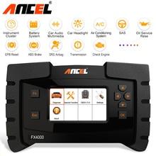 Ancel FX4000 OBD2 Scanner Auto Diagnostic Tool Volledige Systeem Scan Abs Srs Olie Reset Code Lezers ODB2 Diagnose Scanner Automotive
