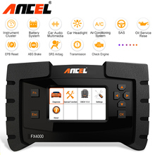 Ancel FX4000 OBD2 Scanner Car Diagnostic Tool Full System Scan ABS SRS Oil Reset Code Readers ODB2 Diagnostic Scanner Automotive