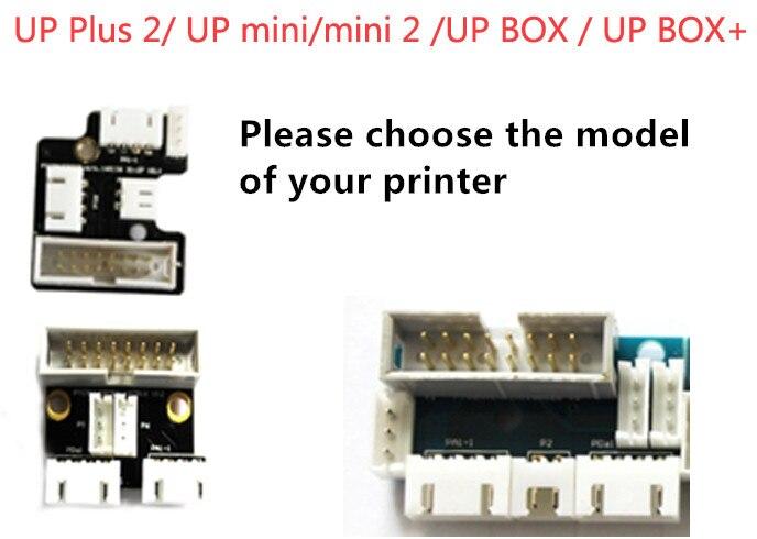 Tiertime Afinia 3D Printer UP/mini/BOX + Series Print Head Circuit Board Cable Interface Board PCB Hotend Board