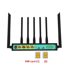 3g 4g lte Modem wi fi router with dual sim card slot 300Mbps long range access point vpn router for outdoor car home industry