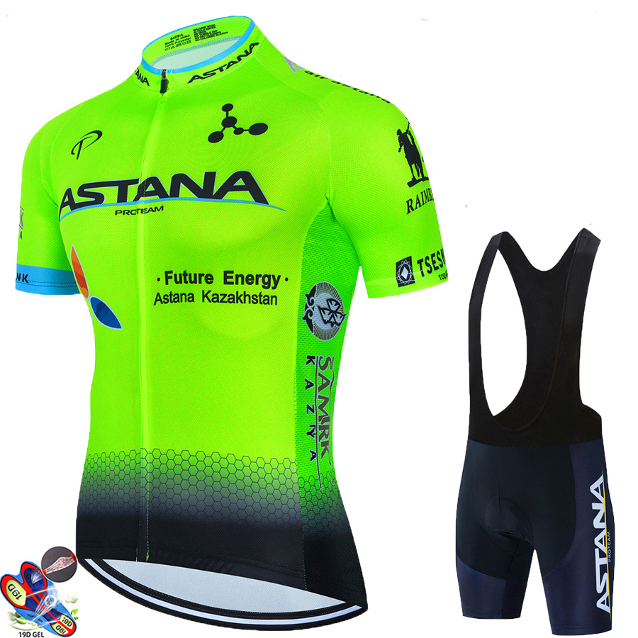 ASTANA summer new road bike cycling jersey suit Bicycle Short Sleeve Cycling Clothing Bike maillot Cycling Jersey Mountain Bike