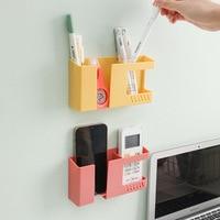 Caja de almacenamiento montada en la pared para teléfono móvil, soporte de pared multifunción de carga, 1 Uds. Organizador montado en la pared