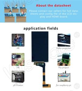 Image 4 - LS055R1SX03 5.5 אינץ 2k IPS LCD מודול 2560*1440 LCD מסך תצוגת HDMI כדי MIPI לוח עבור VR LCD WANHAO D7 3d מדפסת מקרן