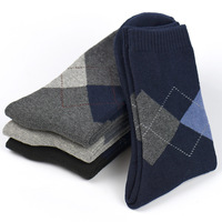 5 Pair Solid Mens Beer Socs Plaid Gray Long Dress Jogging Socks Pack Cotton Polyester Calcetines Striped Korean Style CC50WZ20