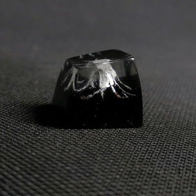 1pc Handmade Customized SA Profile Resin Key Cap For MX Switches Mechanical Keyboard Creative Resin Keycap For Mount Fuji
