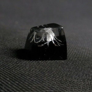1pc handmade customized SA profile resin key cap for MX switches mechanical keyboard creative resin keycap for Mount Fuji(China)