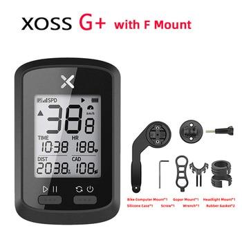 XOSS G GPS Bike Cycyling Computer Waterproof IPX7 Bluetooth 4.0 ANT+ G PLUS Cadence Speed Heart Rate Backlight Speedometer