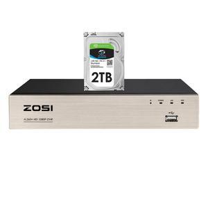 Image 1 - ZOSI H.265 + 4 في 1 CCTV DVR 8CH الأمن TVI DVR 1080P مسجل فيديو رقمي HDMI إخراج الفيديو دعم آيفون هاتف أندرويد