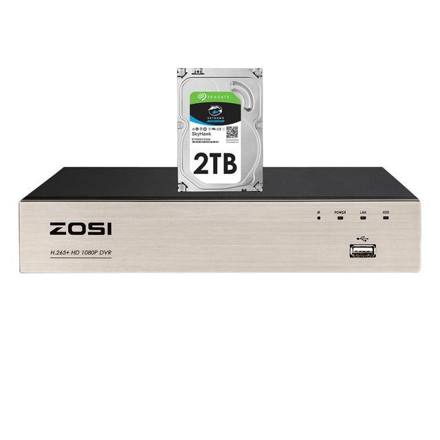ZOSI H.265 + 4 في 1 CCTV DVR 8CH الأمن TVI DVR 1080P مسجل فيديو رقمي HDMI إخراج الفيديو دعم آيفون هاتف أندرويد