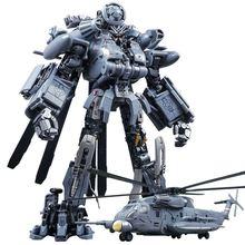 Juguete Blackout de helicóptero transformable para niños, figuras de acción de gran tamaño KO SS08 M05 Hide Shadow WJ M05 de aleación, regalos para niños