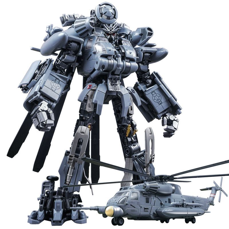 Transformation Vertigo Helicopter Blackout Toy Oversized KO SS08 M05 Hide Shadow WJ M05 Alloy Action Figure Toys Kids Gifts