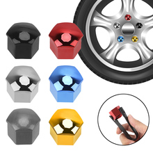 Anti Rust Dust Proof Protection Caps 20 PCS Car Wheel Nut Caps Universal 21mm Bolt Rim Auto Hub Screw Cover