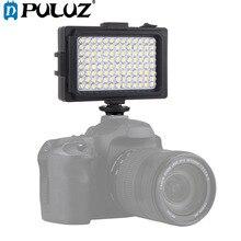 Puluz 104 led 사진 비디오 및 사진 스튜디오 라이트 화이트 & 오렌지 자석 필터 캐논, 니콘, dslr 카메라 용 라이트 패널