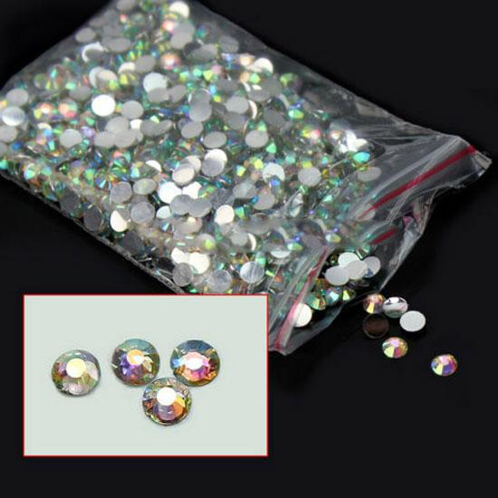 <font><b>1000</b></font> Pcs <font><b>DIY</b></font> Rhinestone Accessories Tool 3D Nail Rhinestones Stones Decorations Crystals Irregular Beads Manicure For Nails Art image
