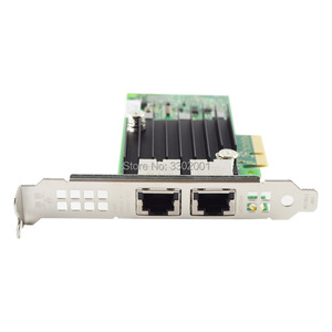 Image 3 - FANMI  PCI E X4 X550 T2 10G Ethernet Server Adapter Dual Port RJ45 Converged Network Adapter X550T2BLK