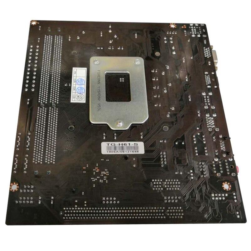 H61 desktop computador mainboard placa-mãe 1155 pinos
