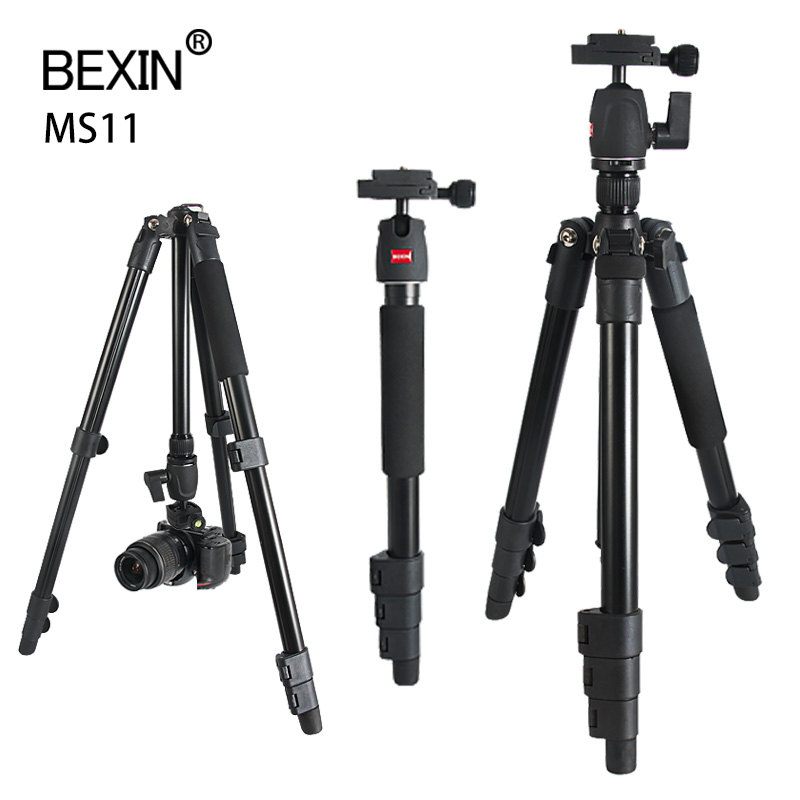 Photography Tripod Camera Stand Mount Tripod Mobile Phone Support Tripod Shoot Adapter Camera Tripod for DSLRS Smartphones Video