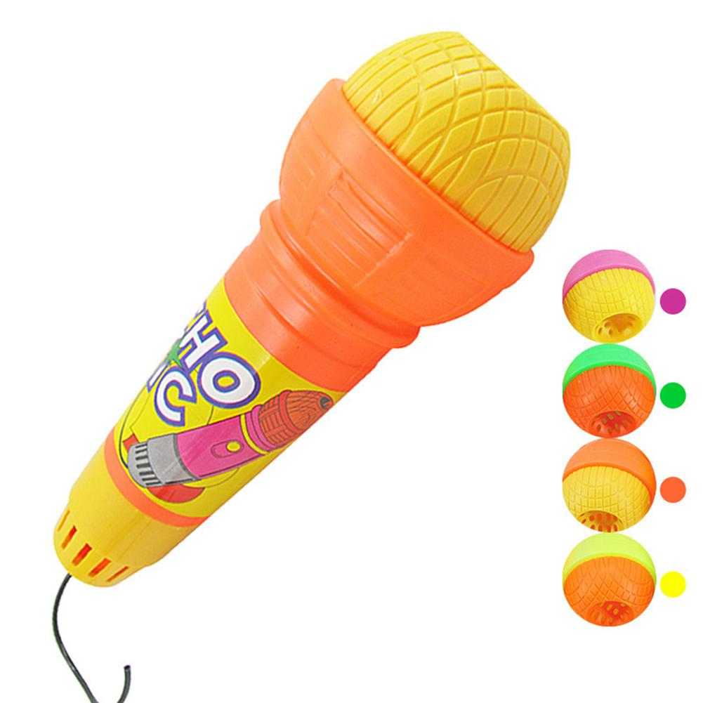 Wireless Girls Boys LED Microphone Mic Karaoke Singing Kids Funny Music Toy Light Toys Music Instruments For Kids Gifts