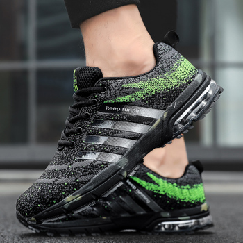 Sport Running Shoes for Men Women Big Size Marathon Training Sneakers Breathable Lightweight Gym Athletic Trail Shoes for Men airtight for running shoes sneakers men running woman sport shoes zapatill 2018 runing shoes for women athletic shoes men