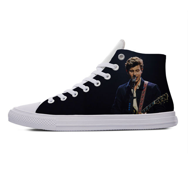 SHAWN MENDES THEMED HIGH TOP SHOES (5 VARIAN)