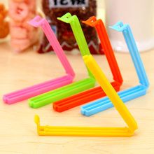 5pcs/lot snack food milk powder sealing clip sealing clamp 1314 fresh-keeping sealing bag plastic bag sealing machine food clip(China)