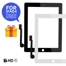 For Apple iPad 4 A1458/A1459/A1460 Touch Screen Replacement Digitizer Sensor Glass Panel New LCD Outer