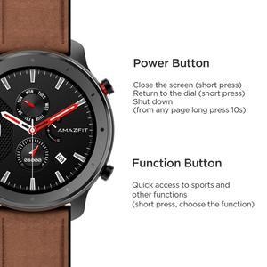 Image 5 - Global Versie Nieuwe Amazfit Gtr 47Mm Smart Horloge 5ATM Smartwatch 24 Dagen Batterij Music Control Voor Android Ios Telefoon