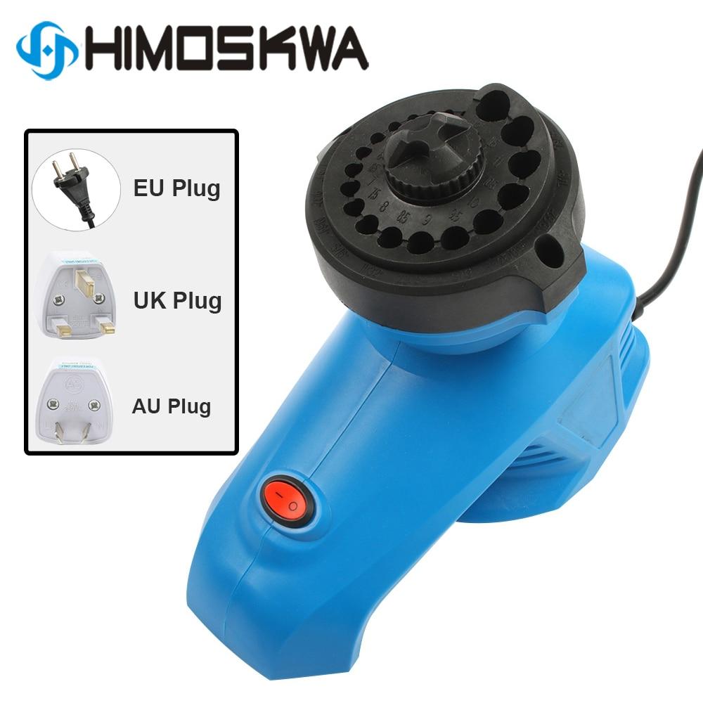 220V Electric Drill Bit Sharpener EU Plug High Speed Drill Grinder Machine Twist Drill Driver 95W 1350rpm For Drill Size 3-12mm