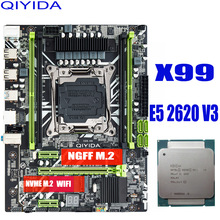 X99 Memory-Combo-Kit-Set Server MATX Xeon E5 2620 V3 Qiyida NVME USB3.0 NEW
