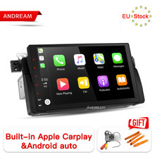 Andream Android 8.1 Car Player Stereo Radio IPS Screen GPS Navigation For BMW/E46/M3/MG/ZT Octa-Core 2G/32G Bulit-in CarPlay(China)