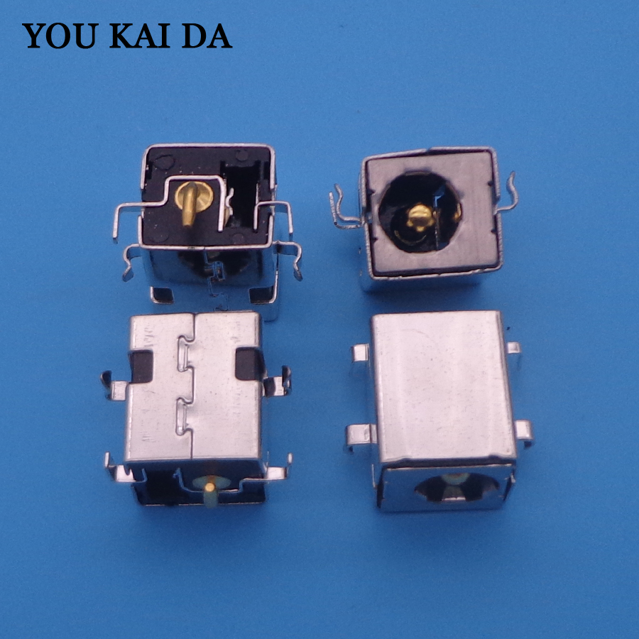 3pcs DC Power Jack Socket Plug Connector Port Mother Board For ASUS For X52E X53J X53S X54 X54H LAPTOP AC DC Power Jack