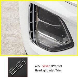 Image 5 - Faro anti fog Kit fari di aria di aspirazione finiture cromate stile accessori esterni per Hyundai Santa Fe Santafe IX45 2019 2020