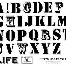 29 piezas Vintage alfabeto inglés letras pegatina DIY artesanía álbum basura diario planificador pegatinas decorativas