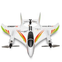 XK X450 3D Aerobatic RC Airplane 6 Channels Remote Control Vertical Takeoff Landing Fixed Wing Plane Helicopter Toys Drone