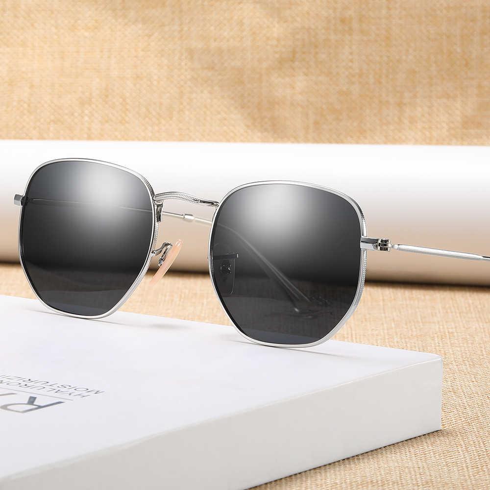 2020 แฟชั่น Retro รอบแว่นตา Unisex แว่นตากันแดด UV400 แว่นตากันแดดหญิงแว่นตาผู้ชายผู้หญิง 3447
