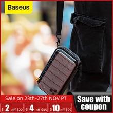 Baseus wodoodporna torba cyfrowa kabel USB karta SD słuchawka do przechowywania telefonu komórkowego torba pokrowiec organizator torba akcesoria podróżne torby