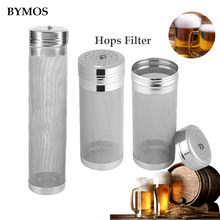 Hops Filter Home Brew 300 Micron Stainless Steel Hop Spider Mesh Beer Filter Strainer Dry Hopper For Home Brew Spider Filter(China)