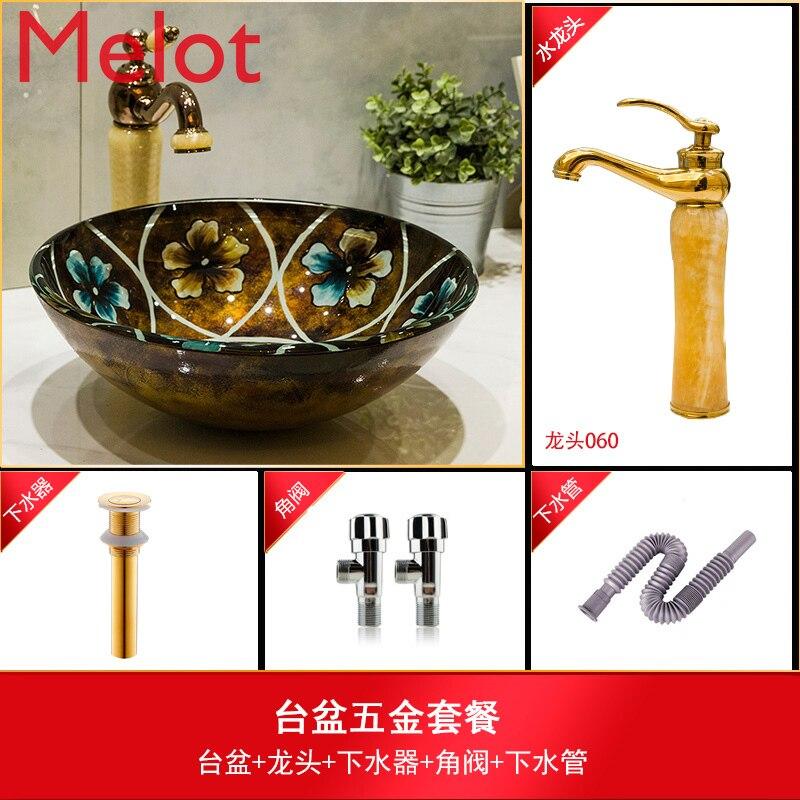 mesa bacia de vidro lavatorio lavatorio arte 04