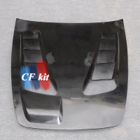 CF Kit JS Style Car Hood FRP Front Bonnet Cover For Honda S2000 Body Kit Car Styling