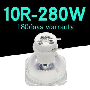 Image 1 - 높은 품질 280W 오스람 램프 무대 이동 헤드 조명 램프/전구 280W MSD 10R 플래티넘 금속 할로겐 램프 1 개/몫