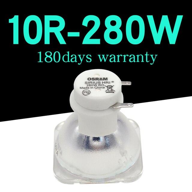 높은 품질 280W 오스람 램프 무대 이동 헤드 조명 램프/전구 280W MSD 10R 플래티넘 금속 할로겐 램프 1 개/몫