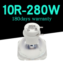 Lámpara OSRAM de 280W para escenario, luces con cabezales móviles, 280W, MSD 10R, lámparas de METAL halógeno Platino, 1 ud./lote