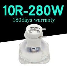 Yüksek kaliteli 280W OSRAM lamba sahne hareketli kafa lambaları lamba/ampul 280W MSD 10R platin METAL halojen lambalar 1 adet/grup