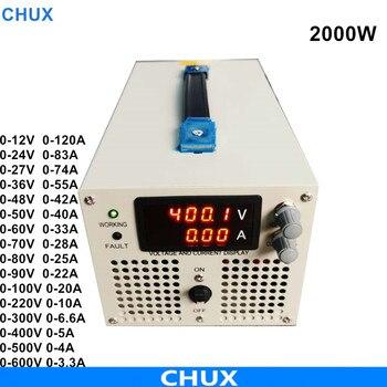 2000W zasilacz impulsowy 0-12V 24V 27V 36V 48V 50V 60V 70V 80V 90V 100V 110V 220V 300V 400V napięcie regulowane zasilanie