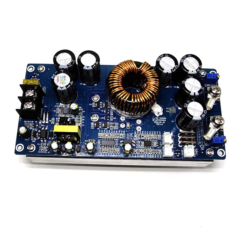DC Buck Converter 30A 800W Step-down Power Supply Module IN 20-70V OUT 2.5-58V