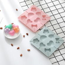 8 love butterfly lollipop silicone molds Cake Chocolate Fudge Mold Food grade silicone  silicone mold  chocolate mold bear biscuit mold chocolate fudge mold silicone mold food grade silicone cake mold silicone mold