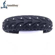 Electric Scooter Snow Tire Ice Tyre for Xiaomi M365 / M365 Pro Scooter Non Pneumatic Solid Tire Shock Absorber Non slip Tyre