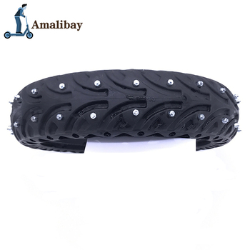 Electric Scooter Snow Tire Ice Tyre for Xiaomi M365 / M365 Pro Scooter Non-Pneumatic Solid Tire Shock Absorber Non-slip Tyre suitable for xiaomi m365 electric scooter solid honeycomb explosion proof stab proof tire free inflatable rubber tire 8 5 2 0